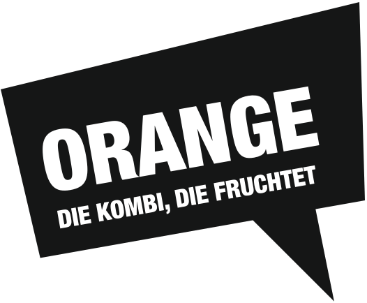 Orange - die kombi, die fruchtet